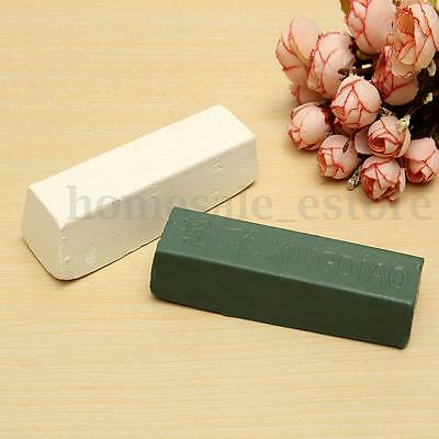 White Green Rouge Abrasive Polishing Paste Buffing Compound Metal Grinding 1 Bar
