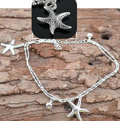 Fashion Sexy Women Starfish Ankle Chain Anklet Bracelet Foot Sandal Beach Chain