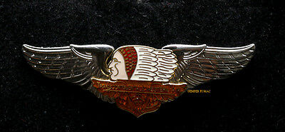 WESTERN AIRLINES TRANSCONTINENTAL WINGS AIR TRANSPORT NRUNES PIN UP Maddux T&WA