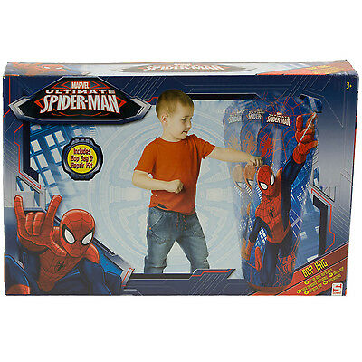 Marvel Ultimate Spiderman Inflatable Kids Training Punching Bop Bag Soft Toy New