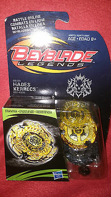Hasbro Beyblade Legends Hades Kerbecs  BRAND NEW SEALED Authentic BB-99 BD145DS