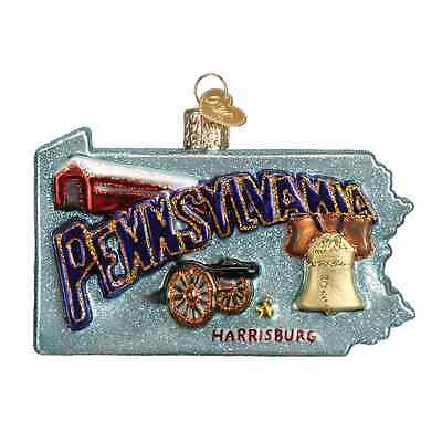 """State of Pennsylvania"" (36181) Old World Christmas Ornament"
