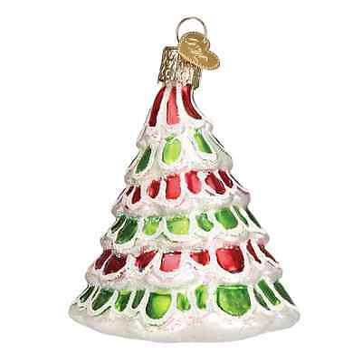 """Whimsical Tree"" (48036) Old World Christmas Glass Ornament"