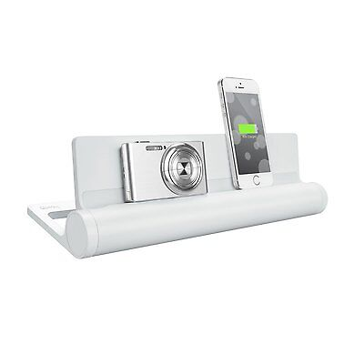 Quirky PCVG3WH01 Converge V2 4-porte ricarica USB Caricabatterie Base - Bianco