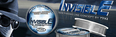 Invisible 3G Generation Extra Strong Fishing Line YUKI - 50M Spools