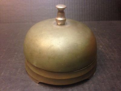Antique Vintage Bronze Giant Counter Store Bell Part