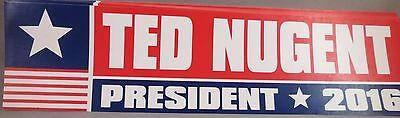 Wholesale Lot Of 20 Ted Nugent For President Stickers Donald Trump Money 2016 Us