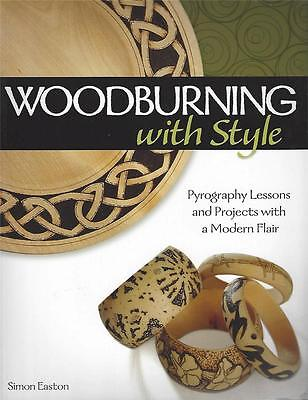 Woodburning with Style NEW PB Pyrography Lessons & Projects Modern Flair Easton