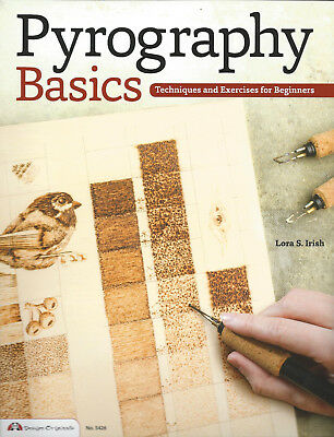 Pyrography Basics NEW PB Techniques & Exercises Beginners Woodburning Made Easy