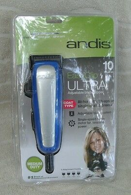 Andis Easy Clip Medium Duty Ultra Clipper Kit for Dogs #60165 ~ New