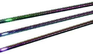 Black Dichroic Coated Effetre Rod (1556064DC)