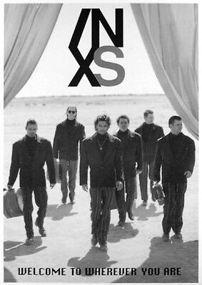 INXS -Welcome To Wherever You Are Poster Plakat (91x61cm) #296