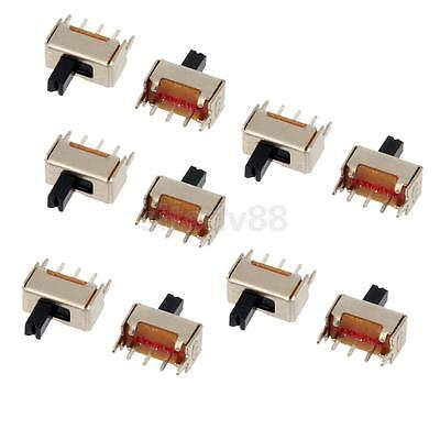 10Pcs 3 Pin 2 Position SPDT 1P2T Mini Micro Vertical Slide Switch