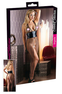 Completino Intimo Donna Sexy Lingerie Cottelli Collection Chemise Wetlook