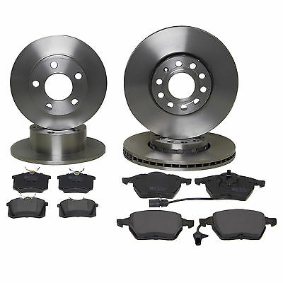 Eicher Front & Rear Brake Kit Discs & Pads - VW Passat 1.9 TDi 1997-2005