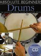 ABSOLUTE BEGINNERS Drums Picture Guide + CD*