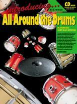 INTRODUCING ALL AROUND THE DRUMS Book & CD