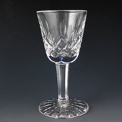 Waterford Crystal LISMORE Cordial Small Liqueur Ireland Made 1 Ounce Never Used