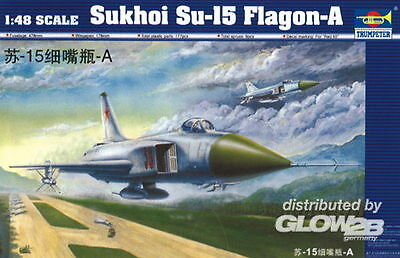 TRUMPETER® 02810 Sukhoi Su-15 Flagon-A in 1:48