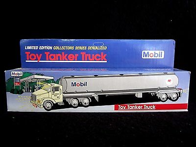 Mobil Oil Toy Tanker Truck 1993 Limited Edition Collectors Series Serialized NEW