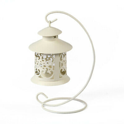 12 x Wedding White Candle Holder Candlestick Lantern Light Centerpiece