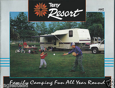 Travel Trailer Brochure - Fleetwood Terry - Resort - Model Overview 1993 (MH18)