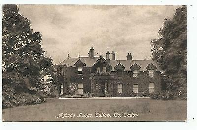 irish postcard ireland carlow aghade lodge tullow