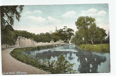 irish postcard ireland kilkenny canal walk