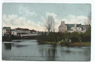 irish postcard ireland kilkenny