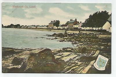 irish postcard ireland blackrock louth