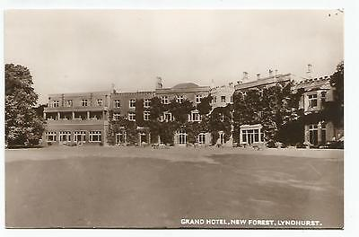 ENGLISH POSTCARD  GRAND Hotel  Grange over Sands  Frith  Mailed 1952