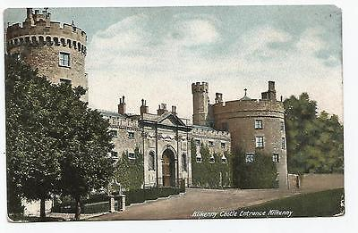 irish postcard ireland kilkenny castle