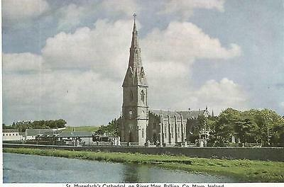 irish postcard ireland mayo ballina cathedral