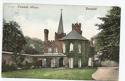 irish postcard ireland louth dundalk house