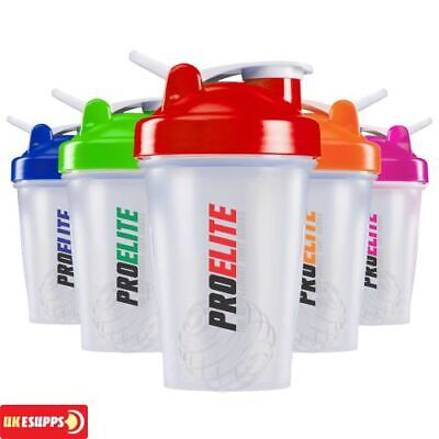 Smart Transparent Bottle Shaker Cup Protein BCAA Mixer 400ml mini shaker