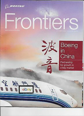 Boeing Frontiers Magazine Boeing In China Potent Partnership 2009 Magazine