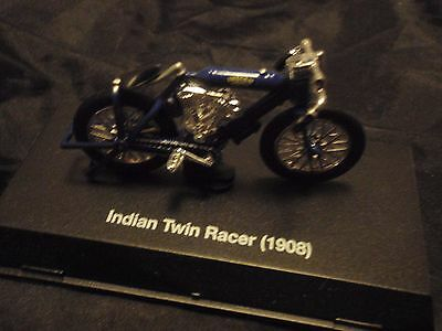Collectors miniature Indian Twin racer 1908 USA