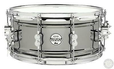 "PDP by DW Concept 6.5""x14"" Snare Drum - Black Nickel over Steel - PDSN6514BNCR"