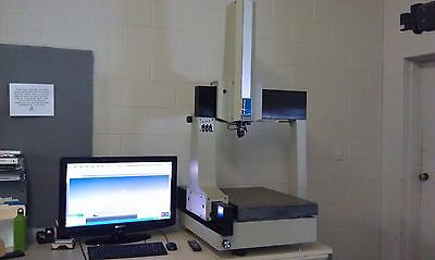 B&S MicroVal 454 Manual CMM w/ CMM Manager Standard CAD IN/OUT Retrofit Renishaw