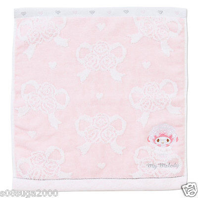 My melody Hand towel Lace F/S Worldwide SANRIO from JAPAN