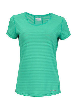 T-shirt donna tecnica Marmot Wm's Aero SS colore gem green