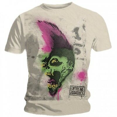 T-shirt Extreme Zombies - Sprayed Skull