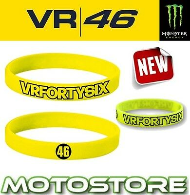 Vr46 Valentino Rossi Vrfortysix Official The Doctor Silicone Bracelet Wristband