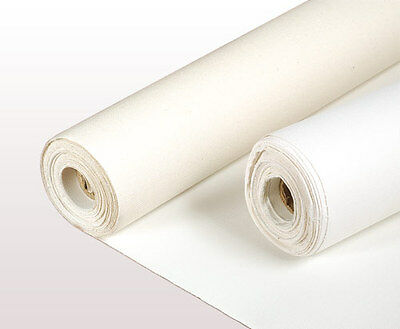 LOXLEY 11oz ACRYLIC PRIMED COTTON BLANK ARTIST CANVAS ROLL 1.6M x 10 M LCR500