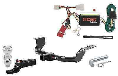 """Curt Class 3 Trailer Hitch Tow Package w/ 2"""" Ball for Honda CR-V"""