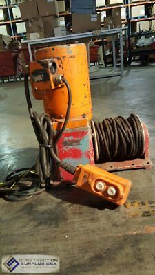 Thern D1251 Electric Steel Cable Winch