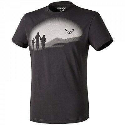 T-shirt uomo Dynafit First Track Co M S/S Tee colore Asphalt-running