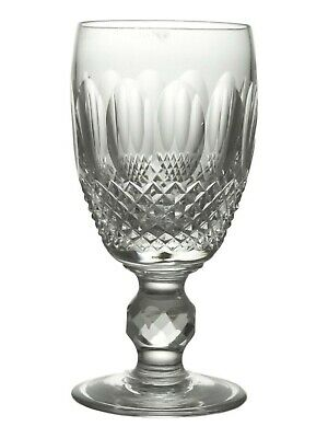 """WATERFORD Crystal - COLLEEN Cut - Sherry Glass / Glasses - 4 1/4"""""""