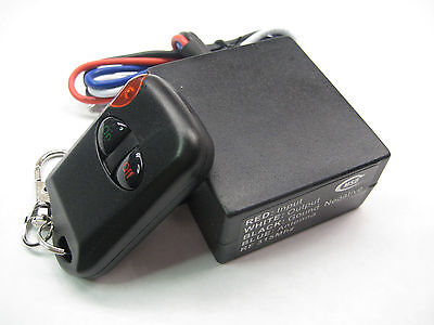MSD 12V DC with 12v output relay switch with on off remote control keyfob RM02