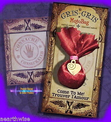 COME TO ME - MOJO BAG GRIS GRIS Wicca Witch Pagan Goth